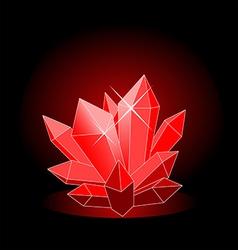 crystal1 vector image