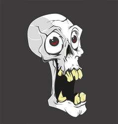 Skull small vector