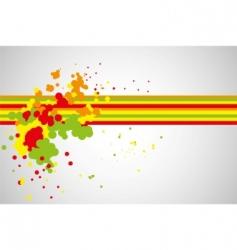 splash pattern vector image vector image