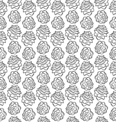 Pinecone vertical pattern vector