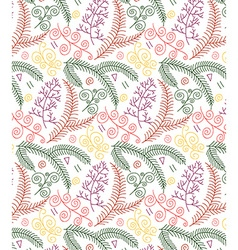 Decorative pattern design vector