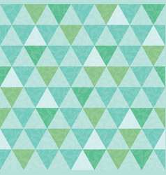 blue and green triangle and leaves texture vector image
