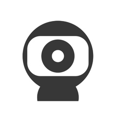 Webcam icon technology and gadget design vector