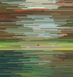 Abstract Colorful Glitch Background Texture vector image