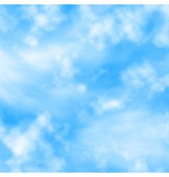 Cloud fluff vector image