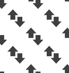 Up and down arrow seamless pattern vector