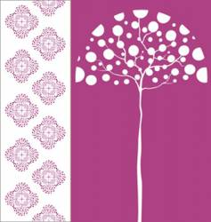 Tree and pattern vector