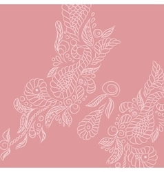 Background pink buttrefly vector