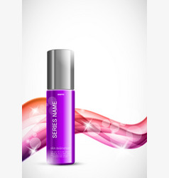 Beauty cosmetic design template vector