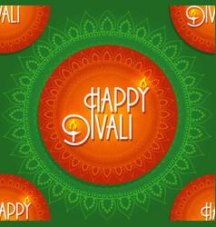 diwali celebration vector image vector image
