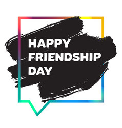 International day of friendship banner vector