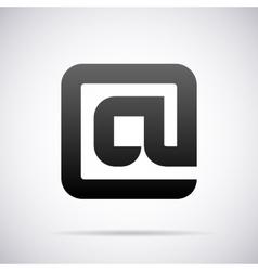 logo for letter A Design template vector image