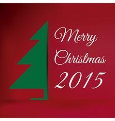 Merry christmas 2015 vector