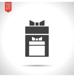presents icon Eps10 vector image vector image