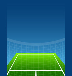abstract sport background tennis vector image