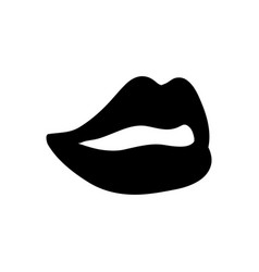 Sexy women lips vector