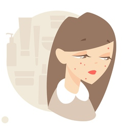 Skin disease vector