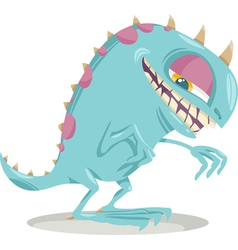 Fantasy monster cartoon vector