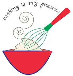 Cooking passion vector