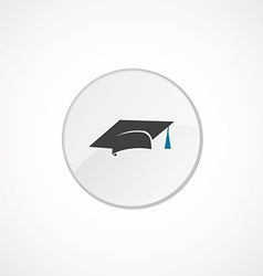 Education icon 2 colored vector