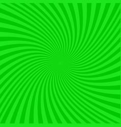 Green spiral background - graphic vector