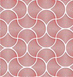 3d red slim striped pin will grid vector