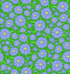 Seamless texture of the flowers vector