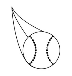 Ball baseball related icon image vector