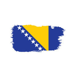 Bosnia and herzegovina flag vector