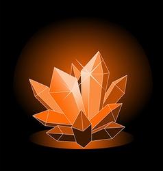 crystal2 vector image