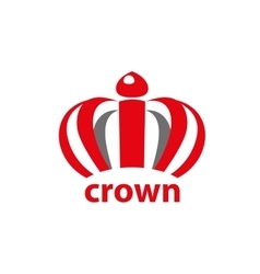 Logo crown vector