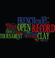 French open preview nadal will slay the clay vector