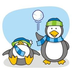 little penguin 5 vector image vector image