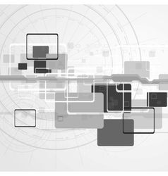 Hi-tech design vector image