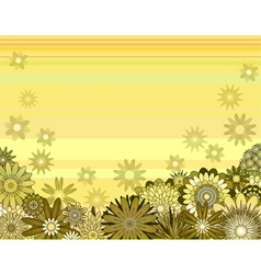 Floral background vector