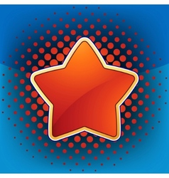 abstract star web and print template eps 8 vector image vector image
