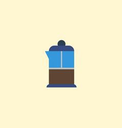 Flat icon pot element of flat vector