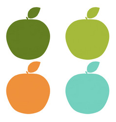 natural labels set vector image