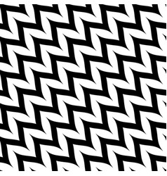 zigzag diagonal chevron seamless pattern curved vector image