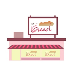 icon bakery vector image