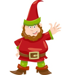 Gnome or dwarf cartoon vector