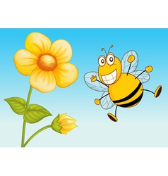 a bee vector image