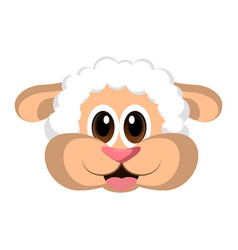 avatar of a sheep vector image