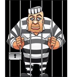 captured prisoner vector image