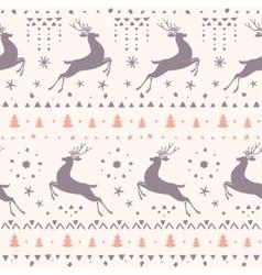 Deer amazing seamless vector