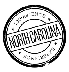 North carolina stamp vector