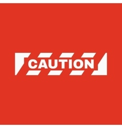 The caution icon danger and hazard attention vector