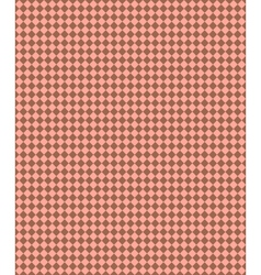 Seamless square rhombus pattern Brown square vector image