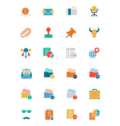 Banking and finance colored icons 8 vector