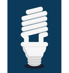 Light bulb colorful design vector